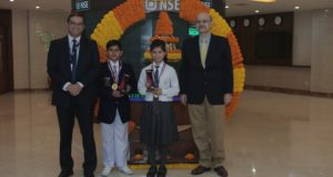 देश के 15 शहरों में आयोजित एनएसई के वित्तीय क्विज कम्पटीशन में लखनऊ के छात्र अव्वल